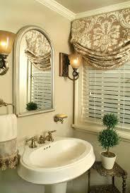33 DIY Roman Shade Ideas To Inspire Your Decorating. Bathroom Valance  IdeasBathroom Window ...