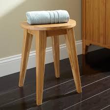 sena bamboo bathroom stool  shower seats  bathroom accessories