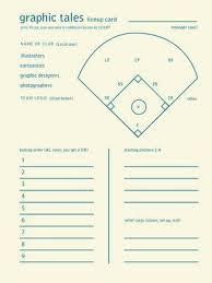 Baseball Lineup And Position Chart Softball Lineup Printable Big Red Baseball Softball And