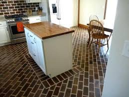 brick flooring vinyl split
