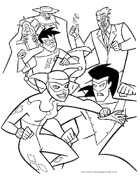 But who are the best superman villains? Awesome Super Villain Coloring Sugar And Spice