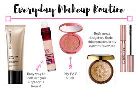 everyday updated makeup routine