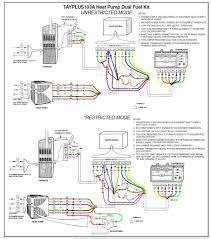 wiring diagram heat pump trane thermostat in color best for heat pump wiring diagram pdf trane heat pump wiring schematic highroadny for diagram