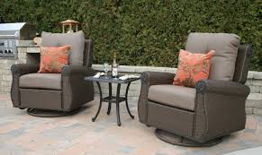 Giovanna Luxury All Weather Wicker Cast Aluminum Patio Furniture