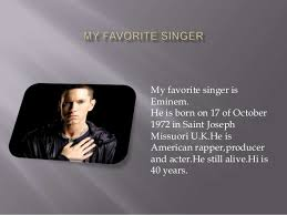 my favorite singer essay who is your favourite singer and why quora iq academy