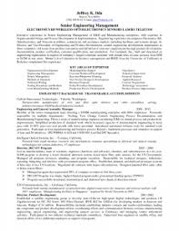 Senior Project Engineer Resume | For Study Photo Examples