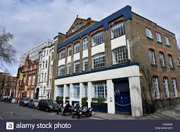Converted Victorian warehouse, London Borough of Camden England Britain UK  - Stock Image