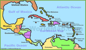 Chart Of Caribbean Islands Map Of Map Of Caribbean Countries Best Caribbean Islands