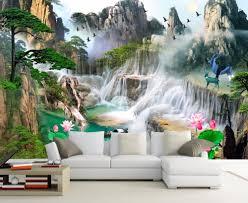 3d Muurschilderingen 3d Behang Voor Woonkamer Slaapkamer Tv Sofa