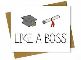 Funny Graduation Card High School Graduation