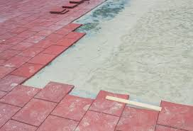 paving contractors may lay down walkways composed of paving blocks
