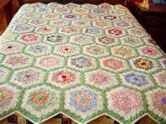 grandmothers flower quilt   Grandmother's Flower Garden Quilt ... & Grandmother's Flower Garden Quilt Adamdwight.com