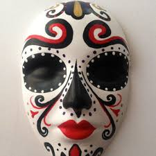 Mask Decorating Ideas Shop Mexican Day Of The Dead Decorations on Wanelo 69
