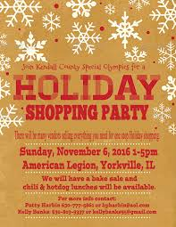 Kcso Annual Holiday Shopping Party Kendall County Special Olympics
