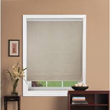 fabric roller blinds. Contemporary Blinds Bali CuttoSize Oatmeal Light Filtering Fabric Roller Shade  56 In W X  72 L3770021056x72 The Home Depot On Blinds M