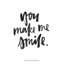 You Make Me Smile The Red Fairy Project Delectable Quotes You Make Me Smile