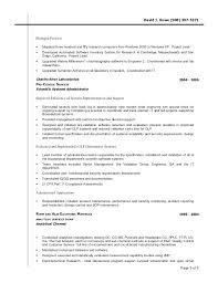 Chemist Resume Inspiration Analytical Chemist Resume Resume Of A Chemist Excellent