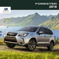 subaru forester 2018 deutsch. modren subaru 2018 subaru forester brochure in subaru forester deutsch