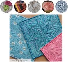 Making In-the-Hoop Trapunto Blocks : Embroidering Quilts ... & Making In-the-Hoop Trapunto Blocks : Embroidering Quilts Adamdwight.com