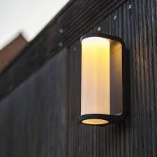 contemporary external wall lights uk