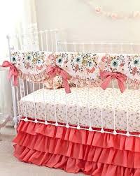 a rose lit par gold crib bedding