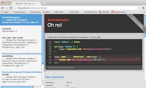 laravel s custom error handler alan storm