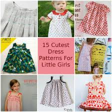Patterns For Dresses New 48 Cutest Free Dress Patterns For Little Girls So Sew Easy
