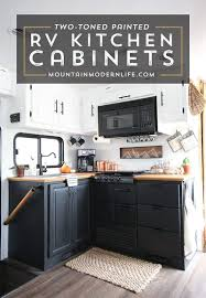 How To Paint Your Rv Kitchen Cabinets And What Not To Do