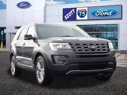 Great Used 2016 Ford Explorer XLT SUV For Sale Holly, MI