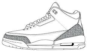 Nike Jordan Coloring Pages