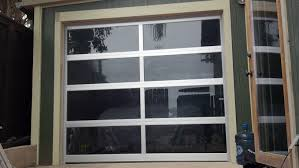 full view aluminum door with tinted glass