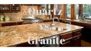 Quartz Vs Granite Kitchen Countertops Quartz Vs Granite Countertops In Mentor Ohio Youtube
