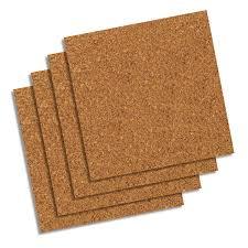 quartet natural cork tiles 12 x 12 frameless modular 4 count 102w b com
