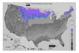 plant hardiness zone map 4