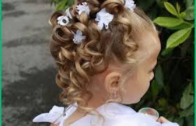 Coiffure Pour Un Mariage Cheveux Mi Long Lisse Pour Enfant