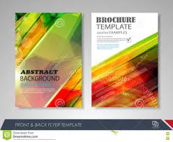 brochures and flyers template design stock vector image  brochures and flyers template design