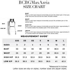 Bcbg Size Charts This A Guide To Help You Decide Whether A