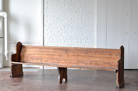 we re so excited to reintroduce you to our vintage oak church pews these wooden beauties were once covered in layers of white paint and were quite lovely