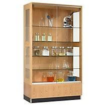 office display cases. Wood Display Cabinet - Oak Finish Office Cases S