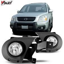2012 Honda Pilot Fog Light Lens Replacement For Honda Pilot 03 05 Factory Bumper Replacement Fit Fog Lights Clear Lens