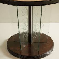 italian stained ebony glass coffee table 1940s 8 1 000 00
