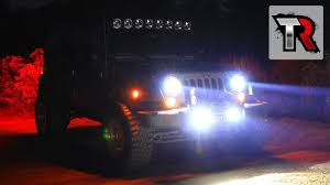 Kc Driving Lights Vs Fog Lights Kc Hilites Led Headlight And Fog Light Review Jeep