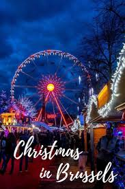The Best Light Show In The World Experience The Joy Of The Brussels Christmas Market