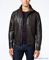 michael michael kors faux leather er jacket men znuq15