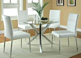 contemporary round dining room tables modern round dining table set and chairs glass kitchen italian modern
