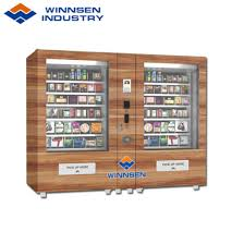 Wooden Vending Machine Simple China Winnsen Combo Salad Vending Machine With Belt Conveyor China