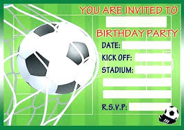 Soccer Party Invitation Template Soccer Party Invitations Templates Magdalene Project Org