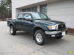 2002 Imperial Jade Green Mica Toyota Tacoma V6 Double Cab 4x4 ...