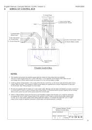 wiring of control box, thruster control box max power compact Bow Thruster Wiring Diagram wiring of control box, thruster control box max power compact user manual page 19 21 max power bow thruster wiring diagram