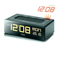 la crosse alarm clock la technology color projection 5 inch alarm clock with moon phase